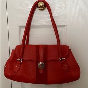 cole haan red purse